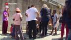 Video «Flüchtlings-Stau in Ventimiglia» abspielen