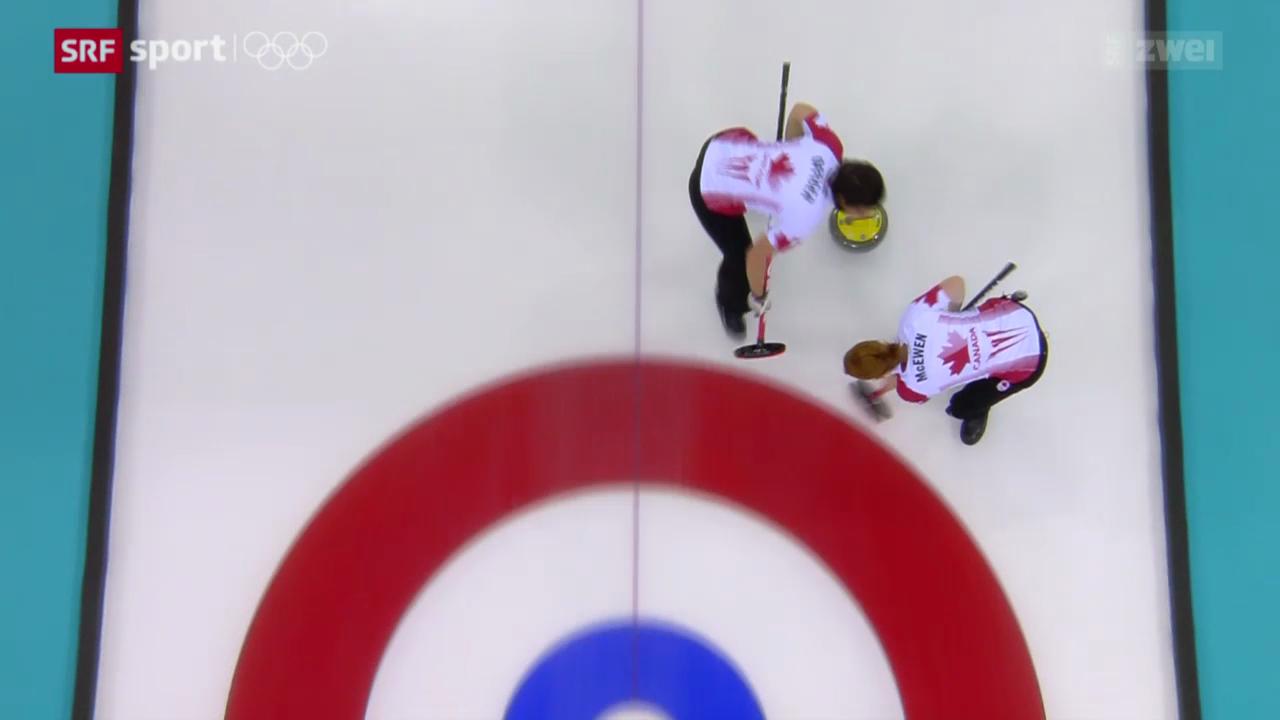 Curling Frauen: Final Kanada - Schweden