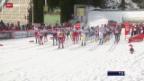 Video «Langlauf: Weltcup in Oslo, 50 km klassisch» abspielen