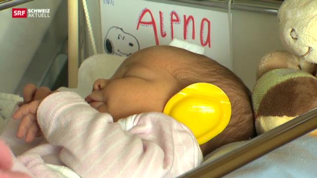 Gehörschutz für Neugeborene