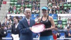 Video «Tennis: WTA Tokio, Bencic-A.Radwanska» abspielen