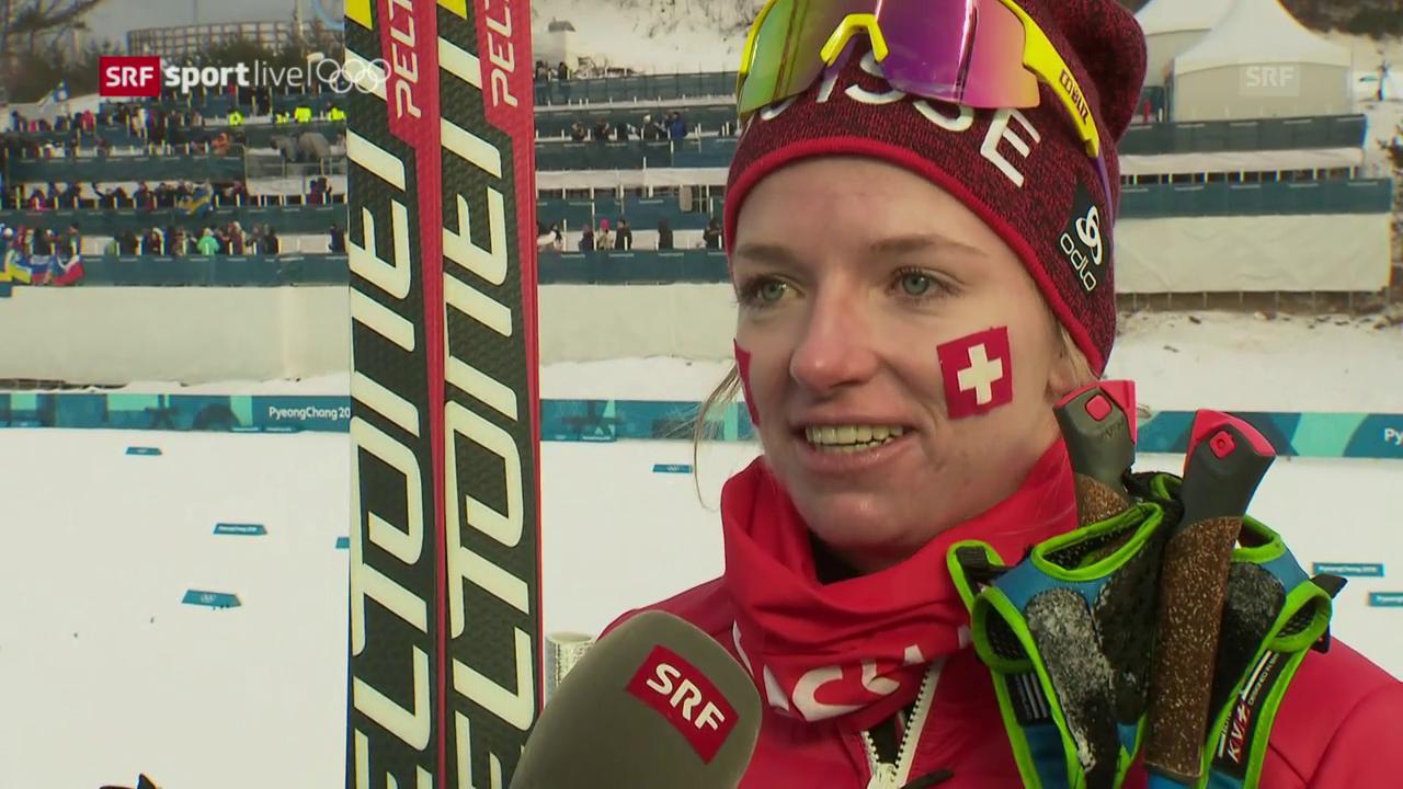 Nadine Fähndrich: «Es war kein perfektes Rennen»