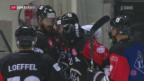 Video «Lugano schlägt Jyväskylä zuhause» abspielen