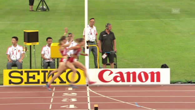 Video «10'000 m: Huddle verliert Bronze auf dem letzten Meter» abspielen
