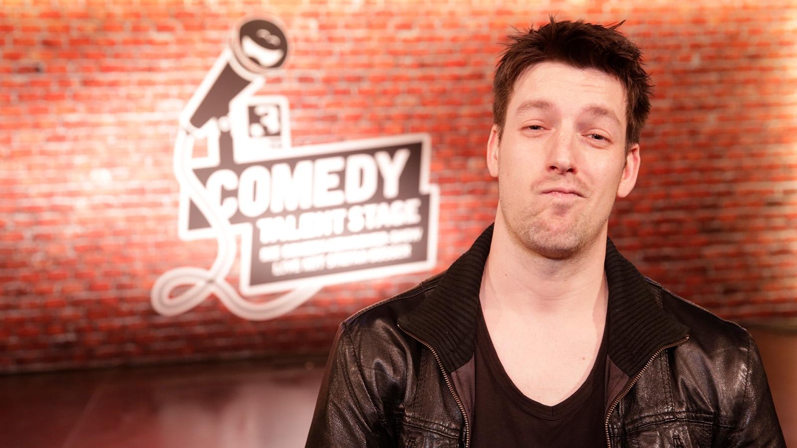 Frank Richter auf der SRF 3 «Comedy Talent Stage»