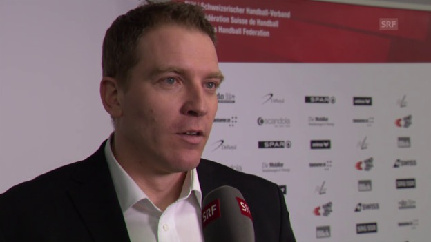 Video «Handball: Neo-Trainer Michael Suter» abspielen