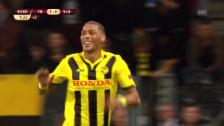 Video «Hoarau's Assist und Tor beim 5:0-Sieg gegen Bratislava» abspielen