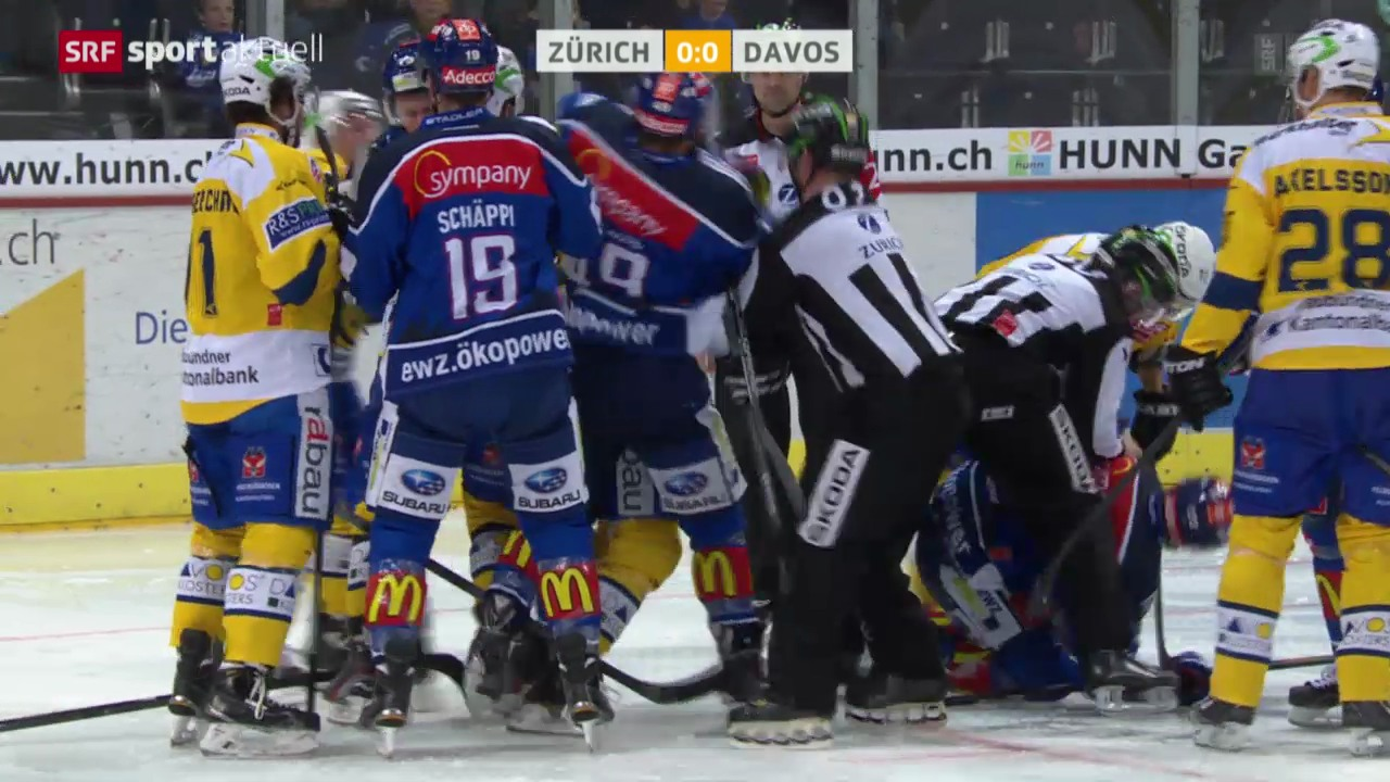 Eishockey: ZSC Lions - Davos