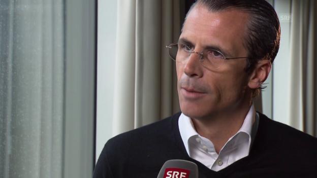 Video «Eishockey: Interview mit Philippe Gaydoul» abspielen