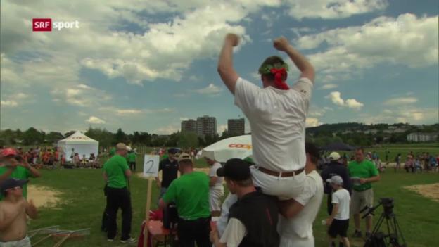 Video «Turnfest: Andi Imhof gewinnt das Nationalturnen («sportaktuell»)» abspielen