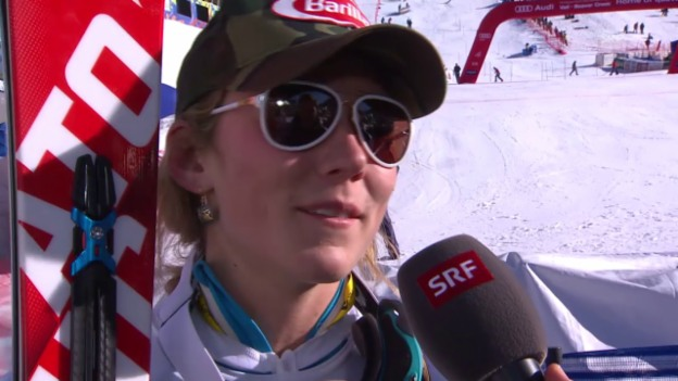 Video «Ski-WM: Interview mit Mikaela Shiffrin» abspielen