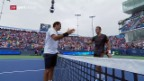 Video «Wie gehabt: Federer zermürbt Mayer» abspielen