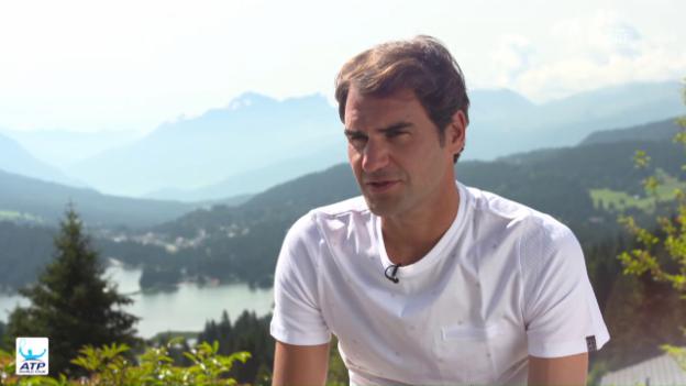 Video «Roger Federer über den neuen Alltag» abspielen