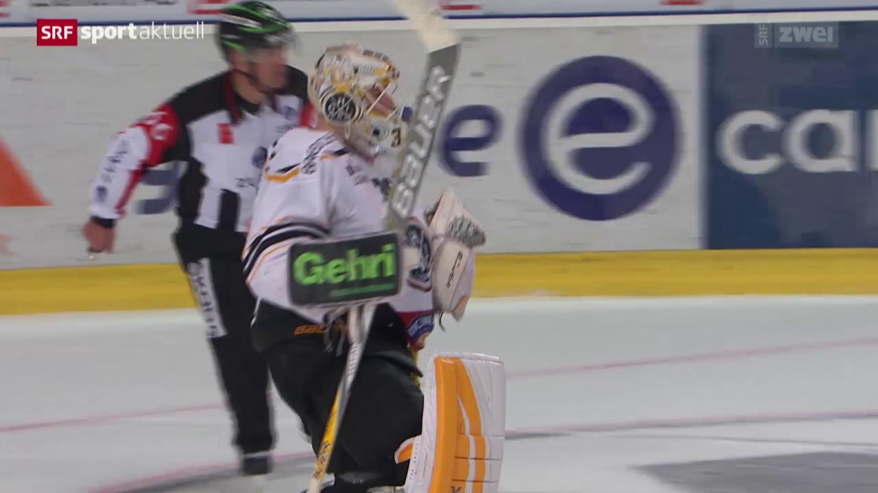 Eishockey: Freiburg - Lugano