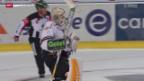Video «Eishockey: Freiburg - Lugano» abspielen