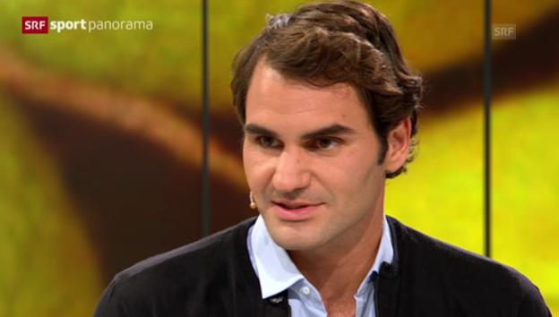 Video «Federer über seine Kinder» abspielen