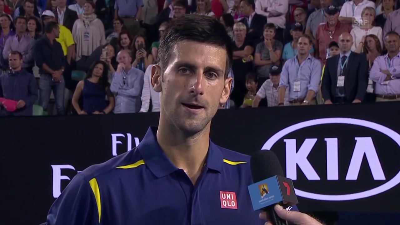 Interview Djokovic