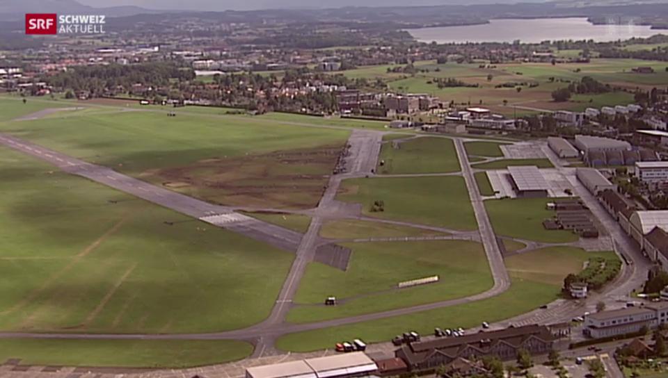 Pläne für Science-Park auf dem Flugplatz Dübendorf