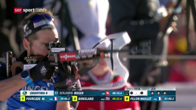Video «WM: Weger wird über 20 km Zehnter» abspielen