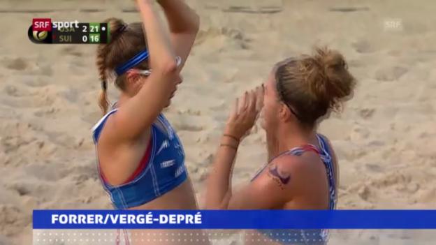 Video «Aus für Schweizer Beachvolley-Duos» abspielen