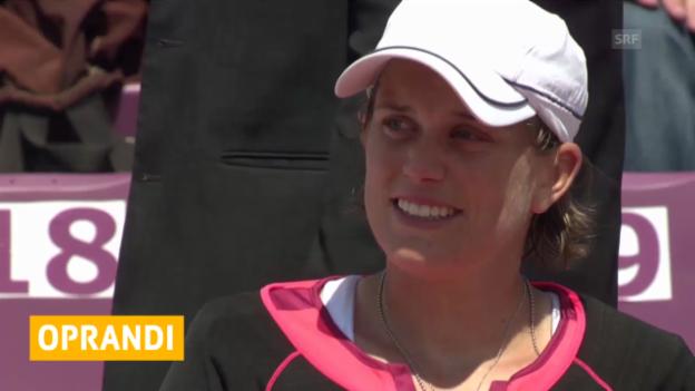 Video «Tennis: Miami, Oprandi - Jovanovski («sportlive»)» abspielen