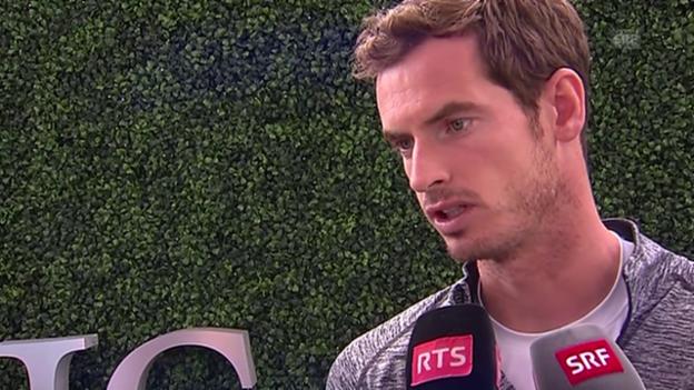Video «Tennis: US Open, Murray über die Schweizer» abspielen