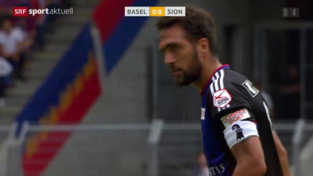 Video «Fussball: Super League, Basel - Sion» abspielen