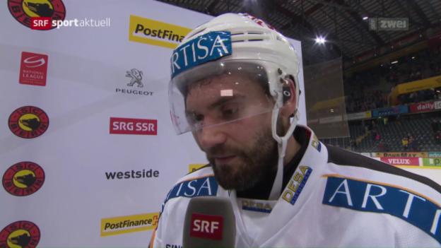 Video «Furrer und Shedden nach der Niederlage in Bern» abspielen
