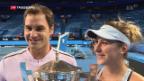 Video «Schweiz gewinnt Hopman Cup» abspielen