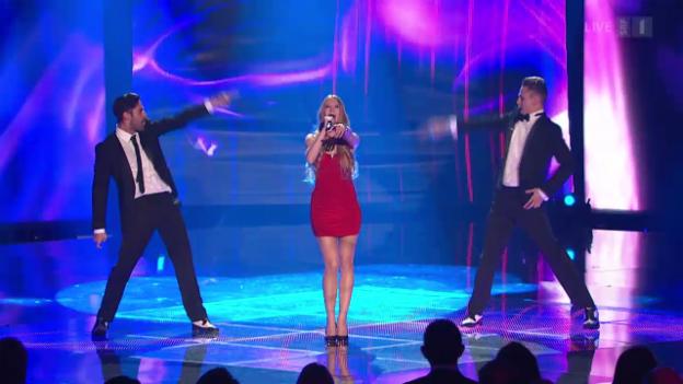 Video «Newcomer Natalia Wohler: «Wahnsinn»» abspielen