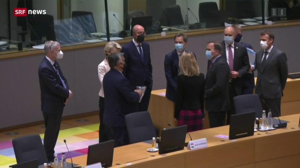 Aus dem Archiv: EU-Gipfel: Mehrheit gegen Orban