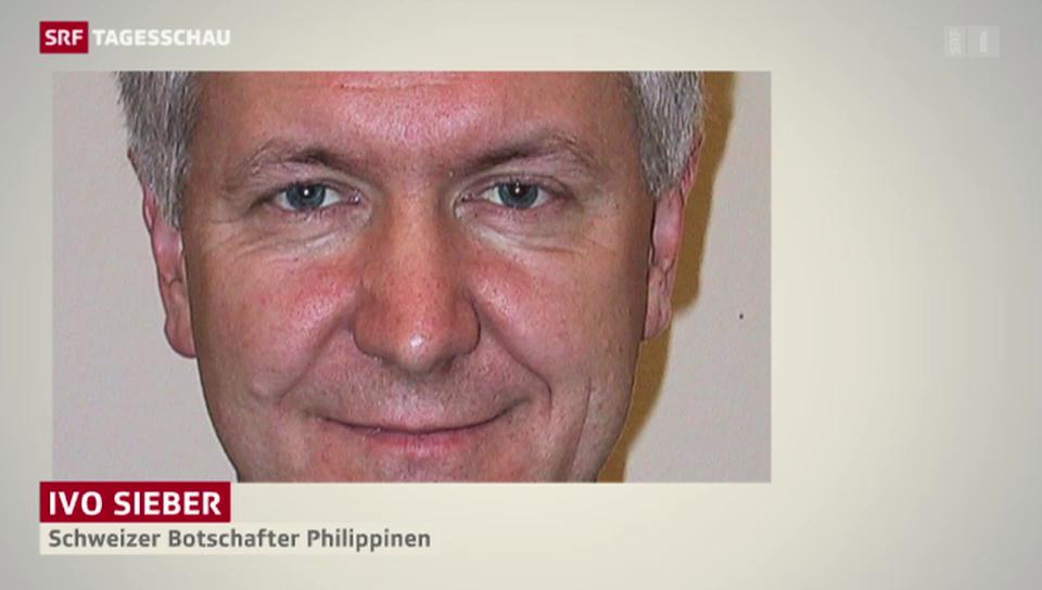 Schweizer Botschafter: «erleichtert über erfolgreiche Flucht»
