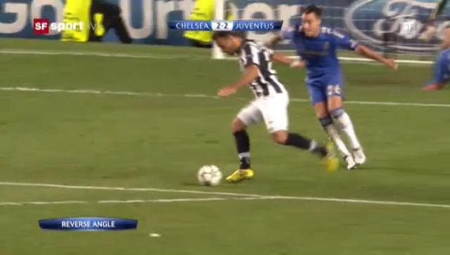 Das Hinspiel zwischen Chelsea und Juventus endete 2:2