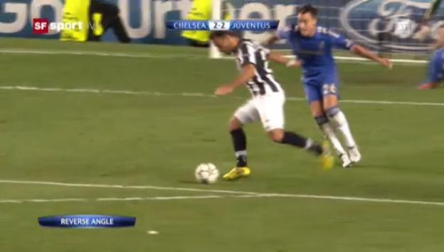 Video «Das Hinspiel zwischen Chelsea und Juventus endete 2:2» abspielen