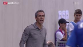 Video «Fussball: Cup, CS Italien Genf - Basel » abspielen