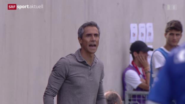 Video «Fussball: Cup, CS Italien Genf - Basel» abspielen