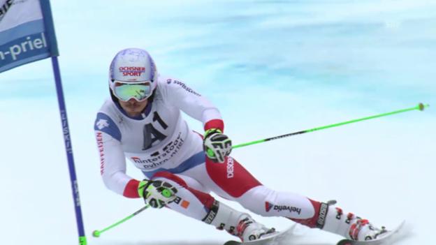Video «Janka mit drittbester Laufzeit im 2. Durchgang» abspielen