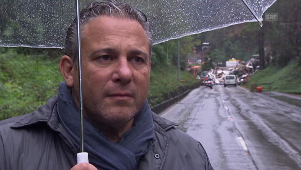Roberto Cattaneo schildert seine Eindrücke aus der Unglücksnacht