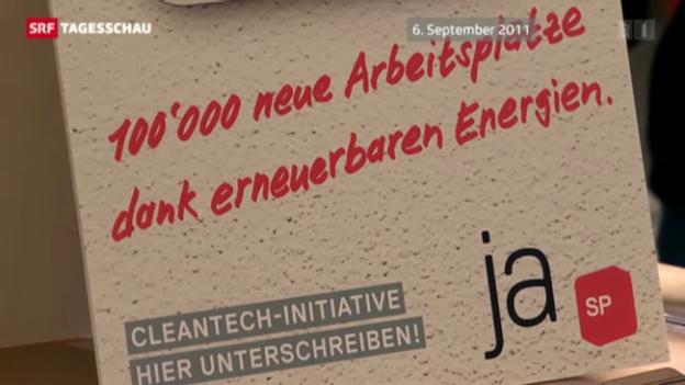 Video «Abfuhr für Cleantech-Initiative» abspielen