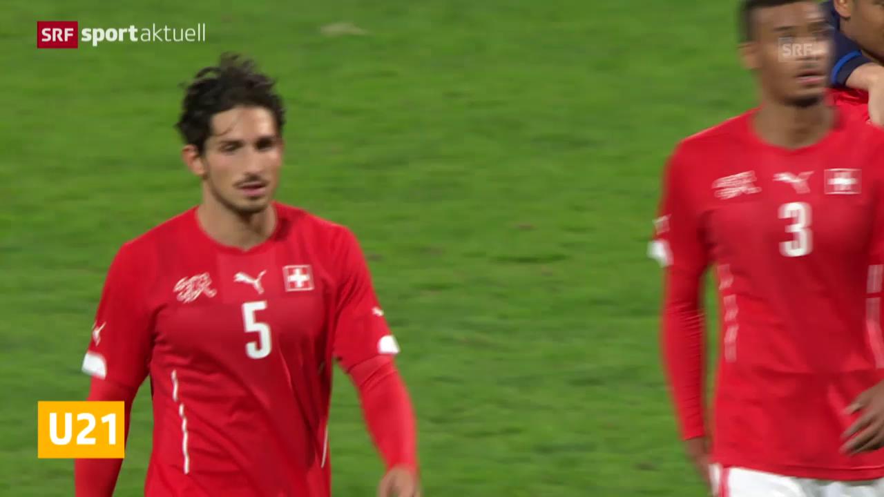 Fussball: U21, Schweiz - Italien