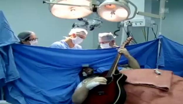 Video «Operation mit Begleitung (unkommentiert)» abspielen