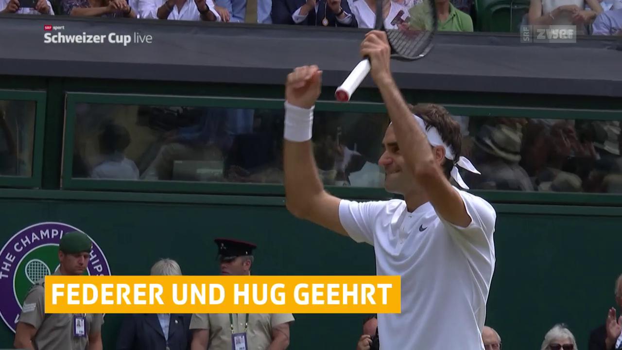Federer und Hug geehrt