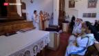 Video «Orthodoxe Christen feiern Dreikönigstag» abspielen