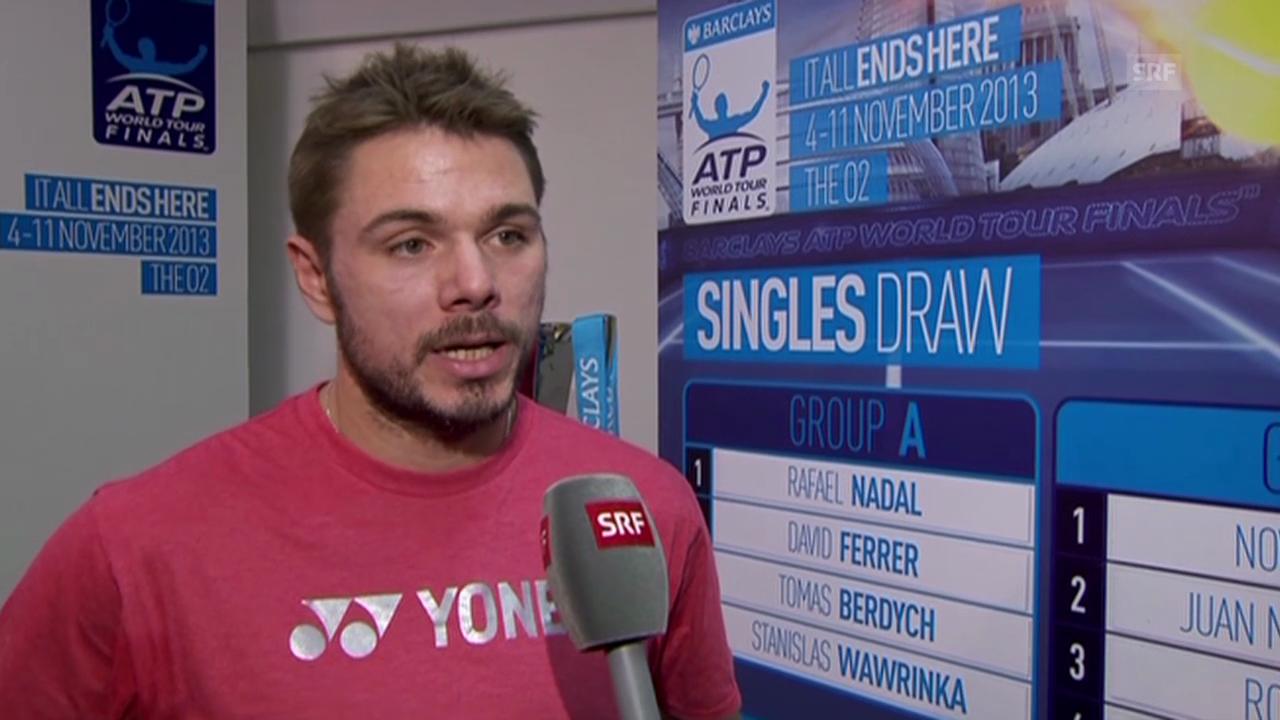 Tennis: Interview mit Stanislas Wawrinka (französisch)