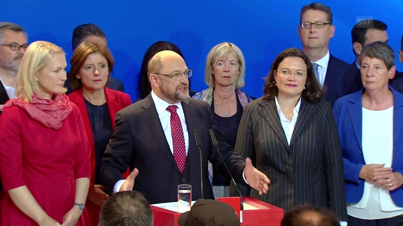 Schulz nimmt Stellung