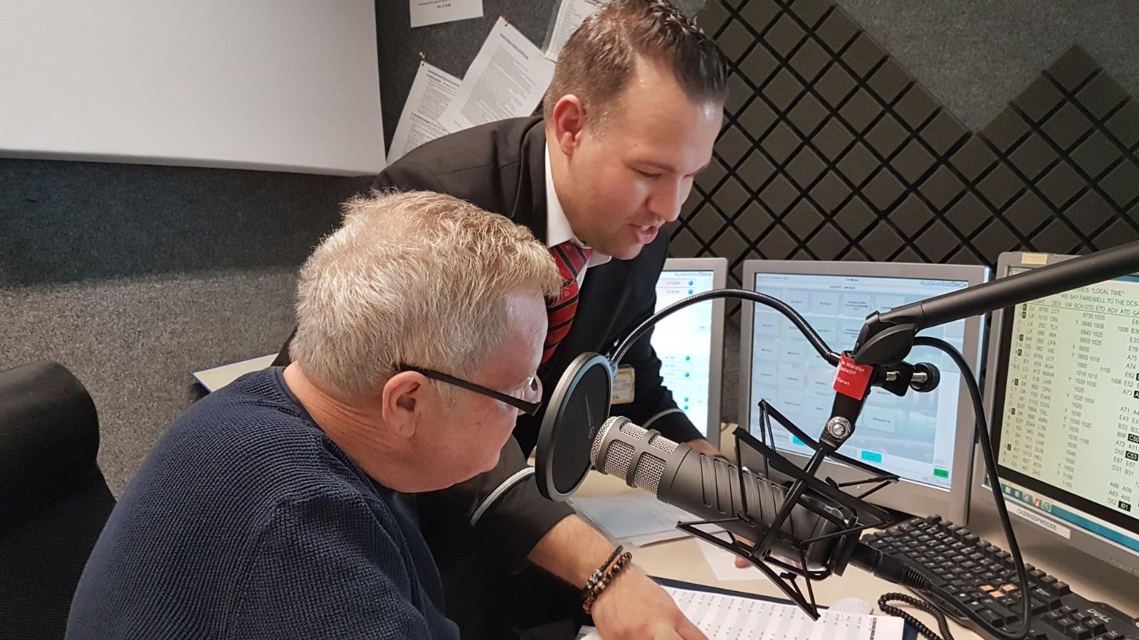 Jörg Stollers erste Lautsprecher-Durchsage