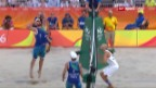 Video «Beachvolleyball: Brasilien - USA» abspielen
