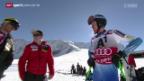 Video «Ski alpin: Weltcup Männer Riesenslalom in Sölden» abspielen