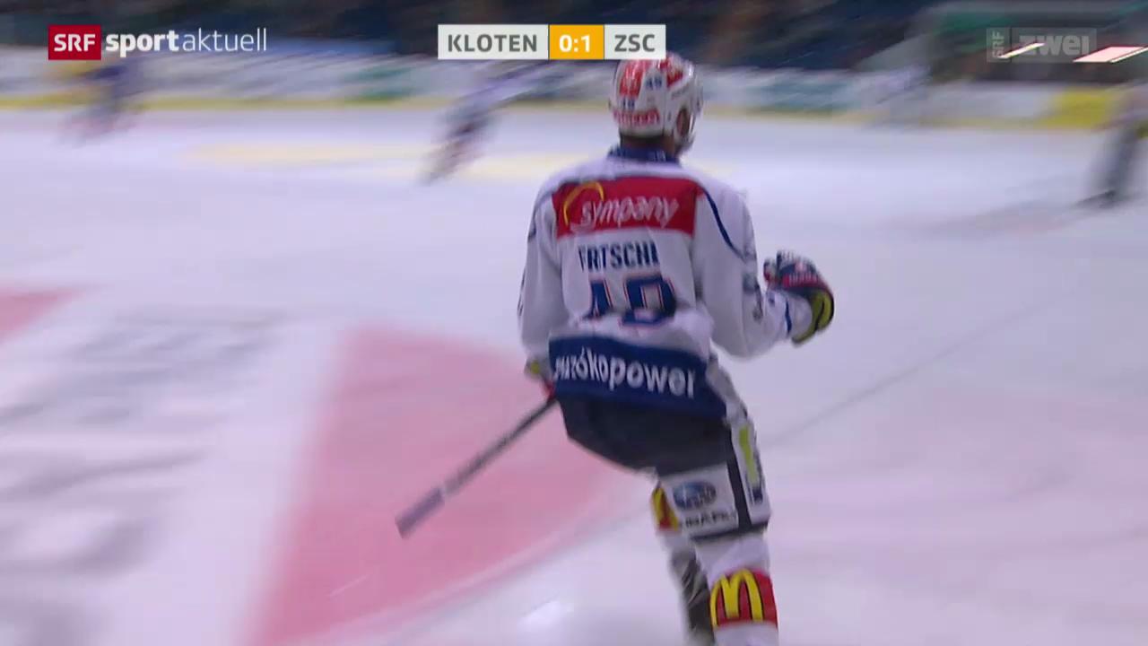 Eishockey: Kloten-ZSC