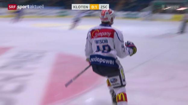 Video «Eishockey: Kloten-ZSC» abspielen